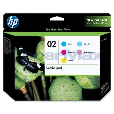 HP NO 02 INK CMY LC LM COMBO-PACK